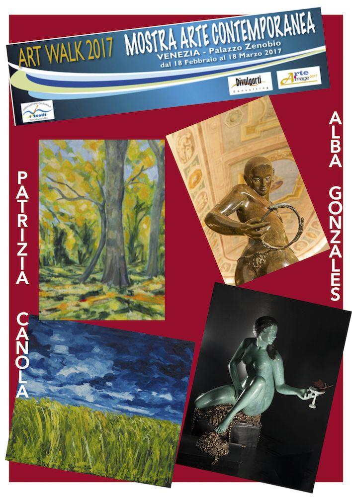 ART WALK 2017 – ALBA GONZALES e PATRIZIA CANOLA – Espoarte