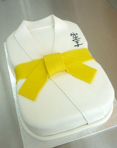 Karate Gi Birthday Cake   Flickr