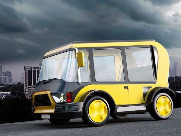 Nanotechnologie et panneaux solaires pour le taxi du futur