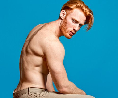 Natural Red Hair Male