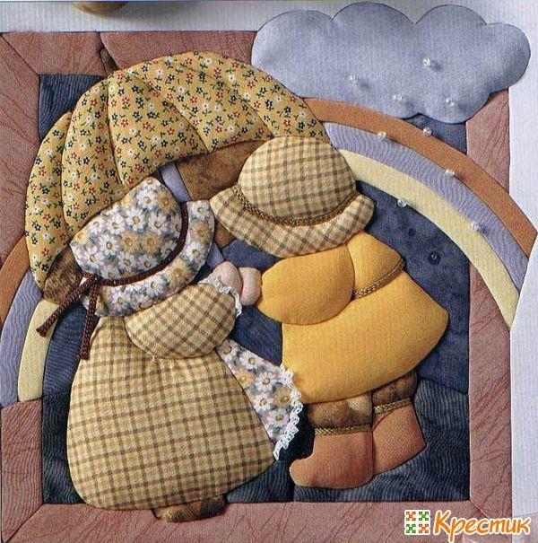 Кинусайга: учимся создавать картины из лоскутков Кинусайга или, как ее называют в России, пэчворк без иголки — искусство создания красивых панно, картин с использованием нескольких техник: аппликация, мозаика, резьба по дереву и пэчворк. Основателем данного вида искусства является Маэно Такаши (Япония, 1987 год).