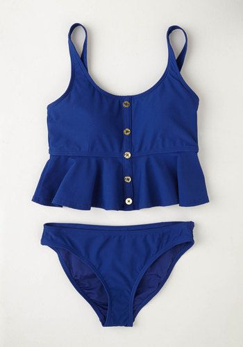 Less Talk More Yachts Swimsuit Top | Mod Retro Vintage Bathing Suits | ModCloth.com