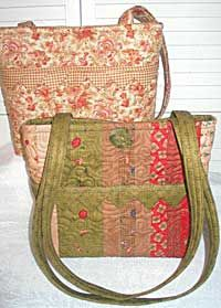 Homemade Quilted Bags Patterns Free | PURSE QUILT PATTERNS | Browse Patterns
