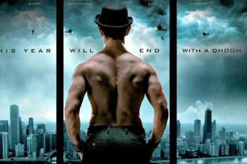 Yash raj films has released their most awaiting upcoming movie Dhoom 3′s new trailor showing aamir knan nd katrina kaif. Trailer looks really promising and we can expect that the year 2013 end will be a real DHOOM for the viewers!!