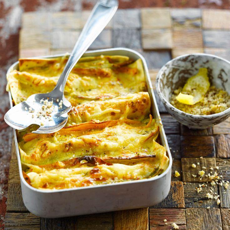 Découvrez la recette des lasagnes végétariennes