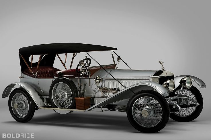 1915 Rolls-Royce Silver Ghost London-Edinburgh Tourer