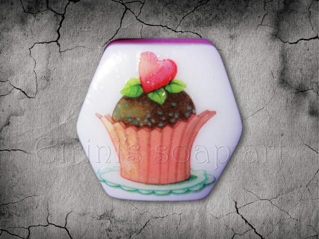 Sweet Heart Decoupage 1soap