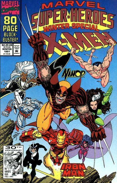 Marvel Super Heroes Winter Special | Cover art by Erik Larsen