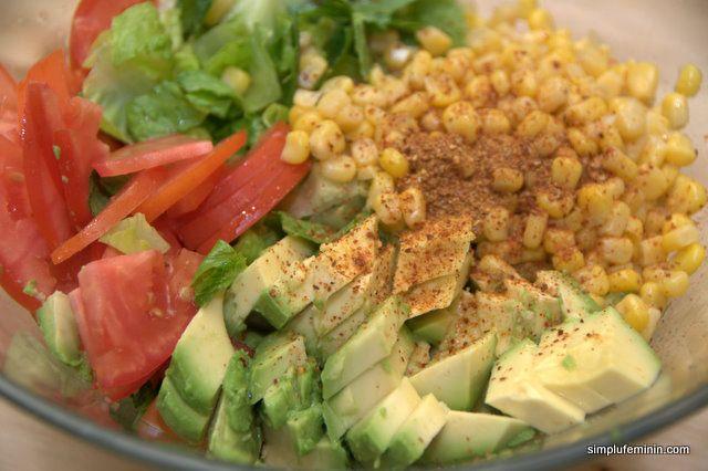 Salata de avocado cu porumb   Simplu Feminin