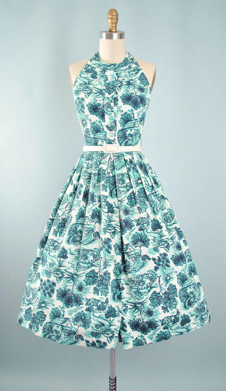 183 best Year 1950\'s images on Pinterest | Vintage dresses, Vintage ...