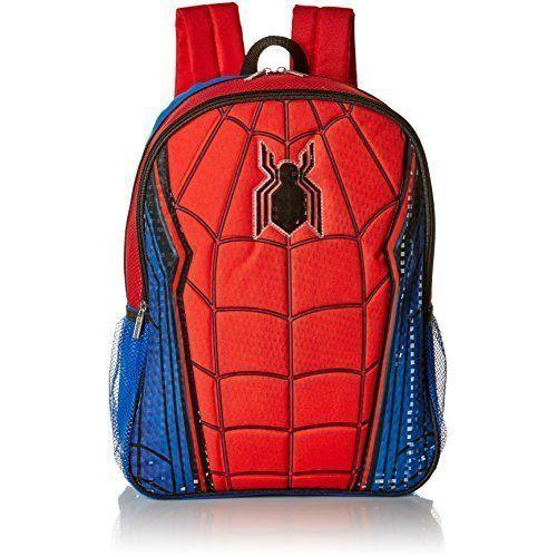 Pre School Travel Student Bags Backpack Spider-Man For Kids Boys Children NEW #PreSchoolBagsBackpackSpiderMan #Backpack