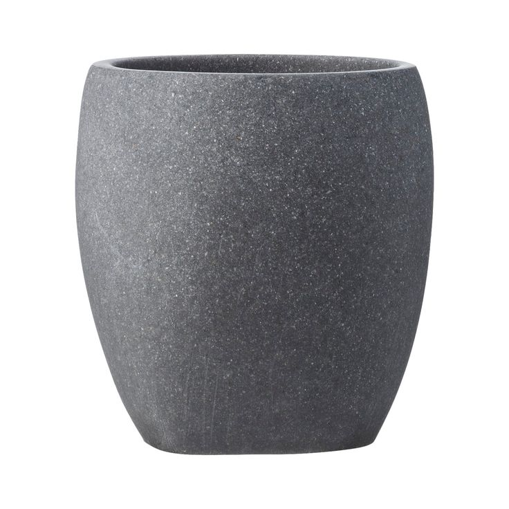 Pour yourself a stiff one in the Charcoal Stone Tumbler. Perfect for a home bar, these stone tumblers create a clean, modern feel. The smooth stone feels soft to the touch, and it's thick enough so your hands don't feel icy. Add this rock tumbler to your collection of stoneware for an elegant look. Hand wash.