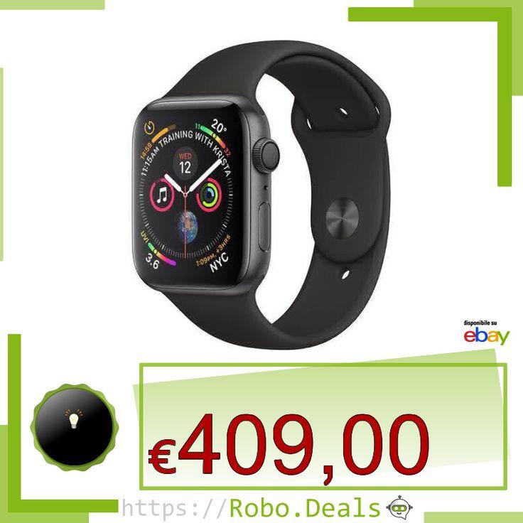 NUOVO Apple Watch Series 4 GPS 44mm Space Gray Aluminium