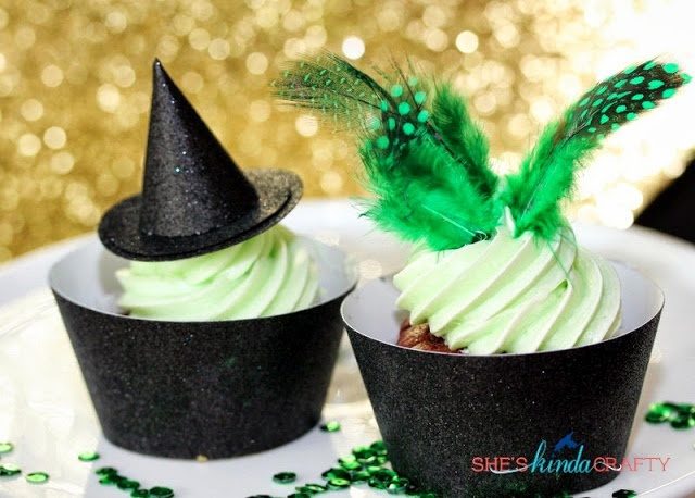 Movie Cupcakes   Oz The Great and Powerful