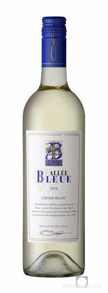 Wine Photography: Allee Bleue Chenin blanc 2013. www.bakkesimages.co.za