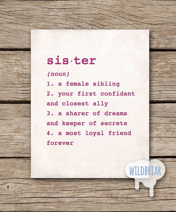 ... Sister Gifts on Pinterest Fun birthday gifts, Sister gifts and