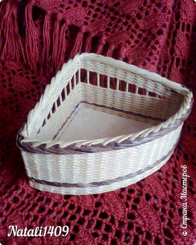 Поделка изделие Плетение Плетенки + МК загибки Трубочки бумажные фото 2