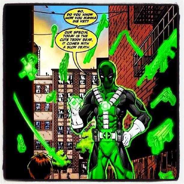 Green Lantern Deadpool.