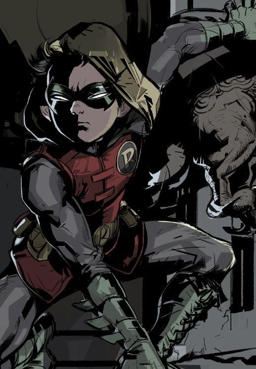 Robin - Damian Wayne - Anamodiel