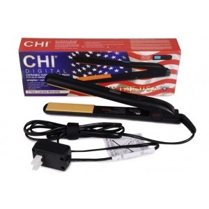 How did I ever live without my CHI ceramic digital flat iron? Heats up in a FLASH! 2 minutes later I have SILKY, SUPER SHINY, NEW HAIR!!   LOVE THIS!!