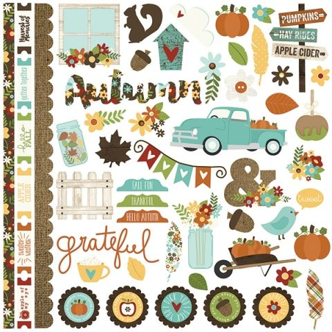 Fundamentals Cardstock Stickers | Simple Stories
