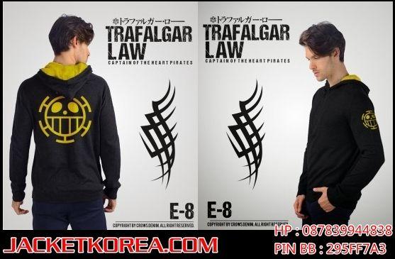 Jaket One Piece karakter Trafalgar D Water Law. Untuk pemesanan buka:  http://www.jacketkorea.com/jaket-anime-one-piece-trafalgar-law/