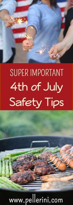 It amazes me that the 4th of July is in a few days.  The 4th is synonymous with getting together with family and friends, eating great BBQ'd food, swimming in the pool and topping the night off with a great fireworks show.  After hosting a handful of these soirees, I've gathered some important 4th of July safety tips to ensure a truly HAPPY 4th of July.