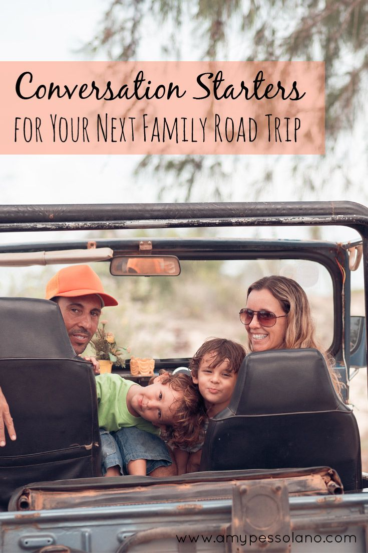 Printable conversation starters for your next family trip