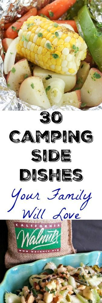 Camping Side Dishes that will rock your trip.