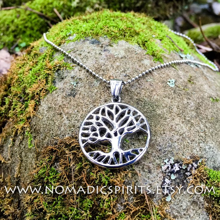 A personal favorite from my Etsy shop https://www.etsy.com/au/listing/452774522/stainless-steel-tree-of-life-pendant-on
