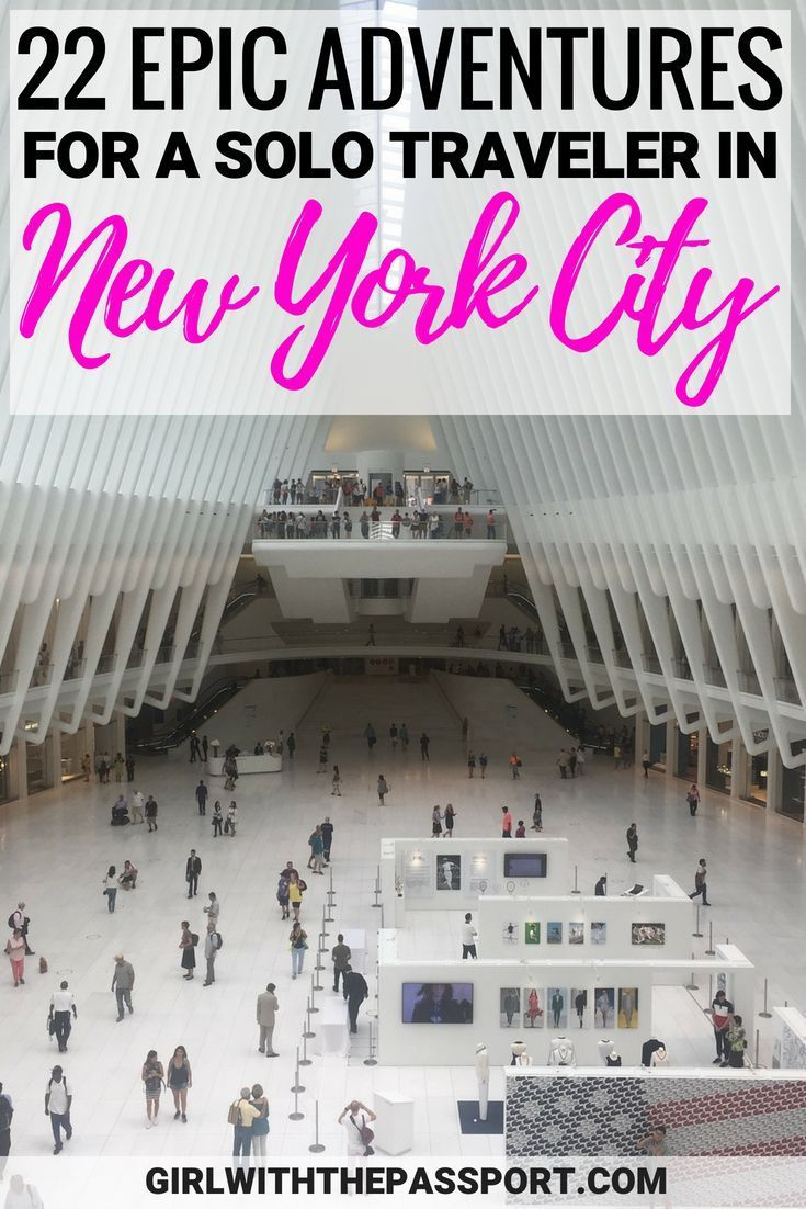 NYC Solo Travel: 22 Things to do Alone in NYC