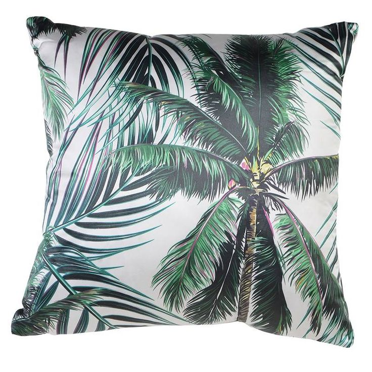 Palm trees.. all we need is the sun. Cushion £24.99 www.hanaleyinteriors.co.uk