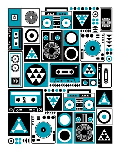 Repetitive Beats 2 by Greg Straight for Sale - New Zealand Art Prints