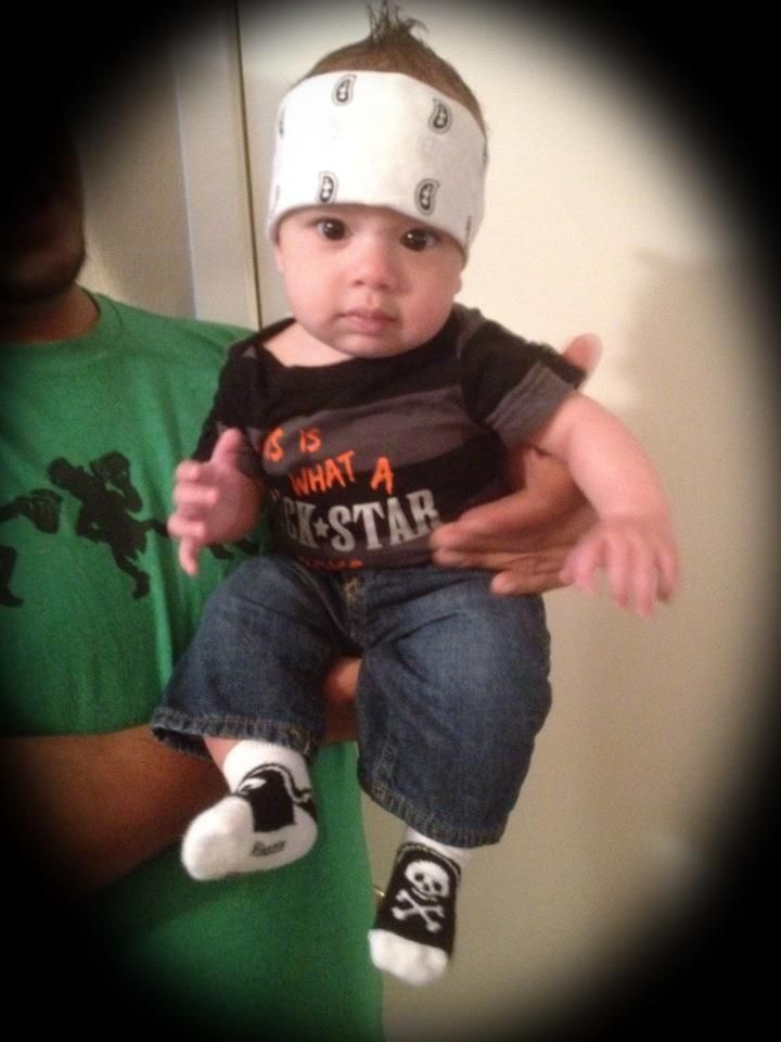 baby rock star costume made by brooke. Black Bedroom Furniture Sets. Home Design Ideas