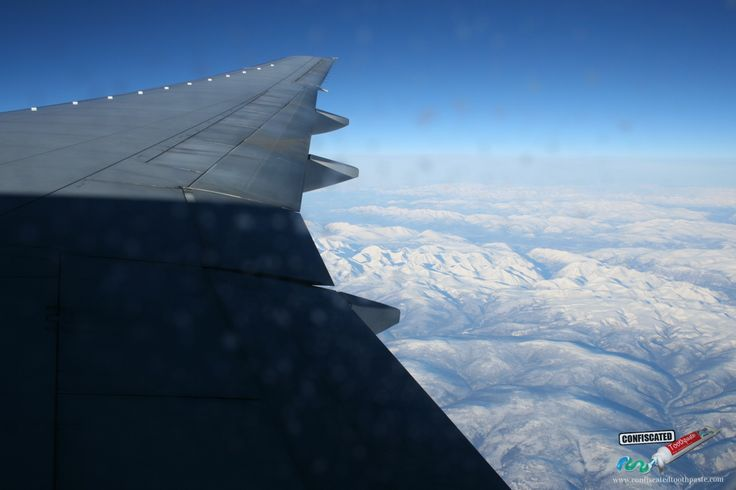 "Flying over Siberia on the way to China. ""The Truth about Flying"": http://www.confiscatedtoothpaste.com/the-truth-about-flying/"