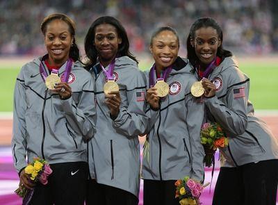 2012 London Olympics US Women Relay Team
