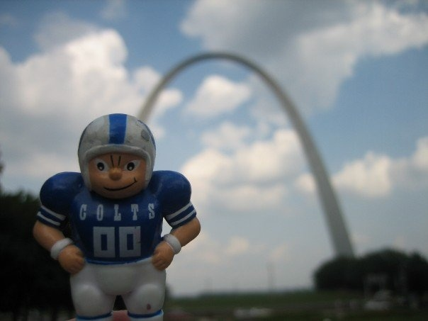 coltsguy at the St. Louis Arch. 2007.