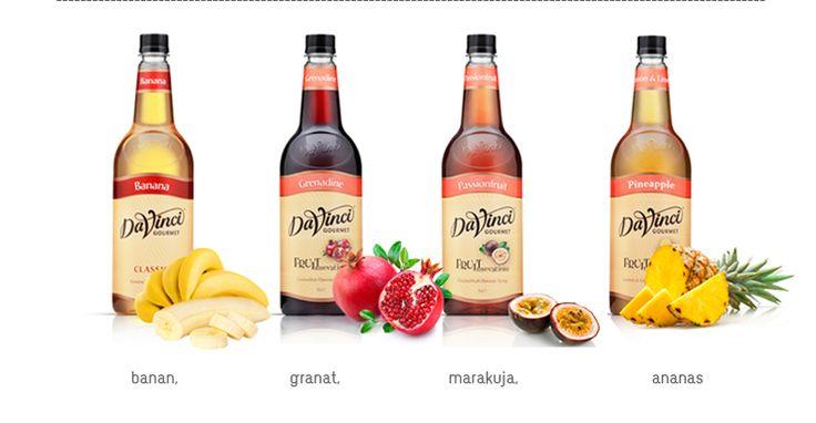 egzotycznie z DaVinci #syropy #drink #koktajl #bar #restauracja
