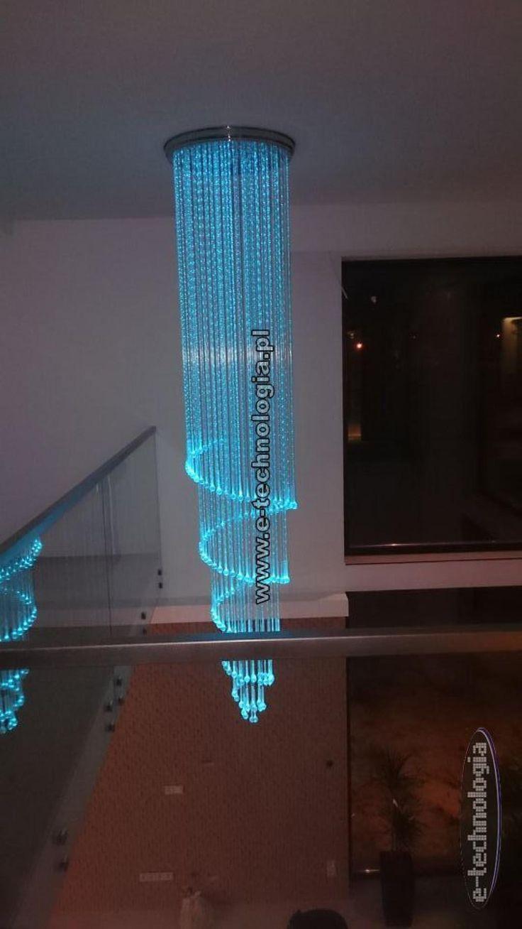 funkcjonalne oświetlenie schodów - oświetlenie schodów w domu - pomysł na oświetlenie schodów e-technologia