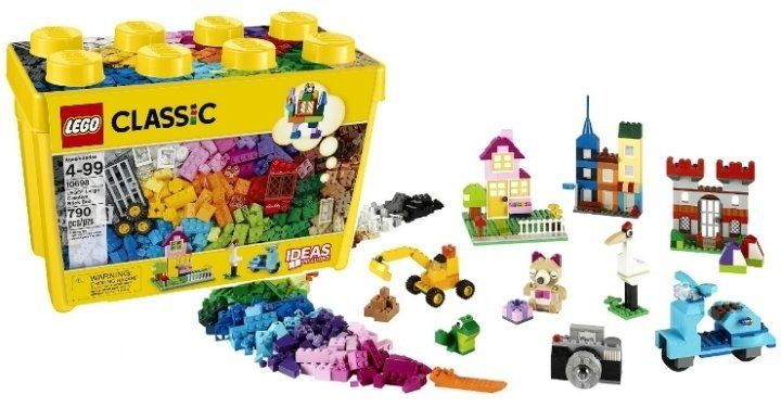 [$46.99 save 41%] LEGO Classic Large Creative Brick Box $46.99 @ Amazon Canada http://www.lavahotdeals.com/ca/cheap/lego-classic-large-creative-brick-box-46-99/226804?utm_source=pinterest&utm_medium=rss&utm_campaign=at_lavahotdeals
