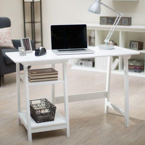 Manhattan Open Computer Desk with Adjustable Shelf $80