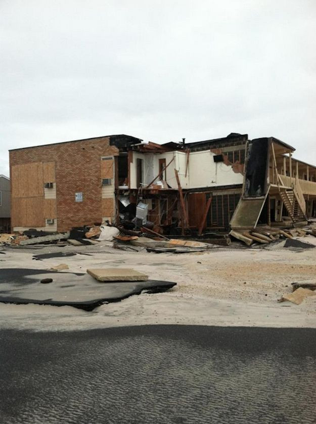 Ortley Beach | 25 Incredible Pictures Of Hurricane Sandy's Destruction In New Jersey