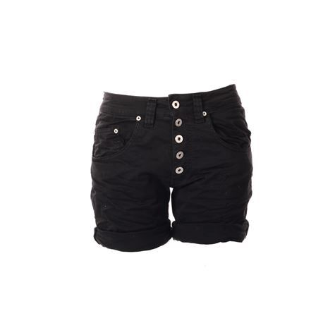 Please Jeans 5B Shorts Nero via www.jenterommet.no