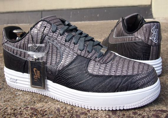 Nike Lunar Force 1 Lizard Skin Bespoke by Slovadon