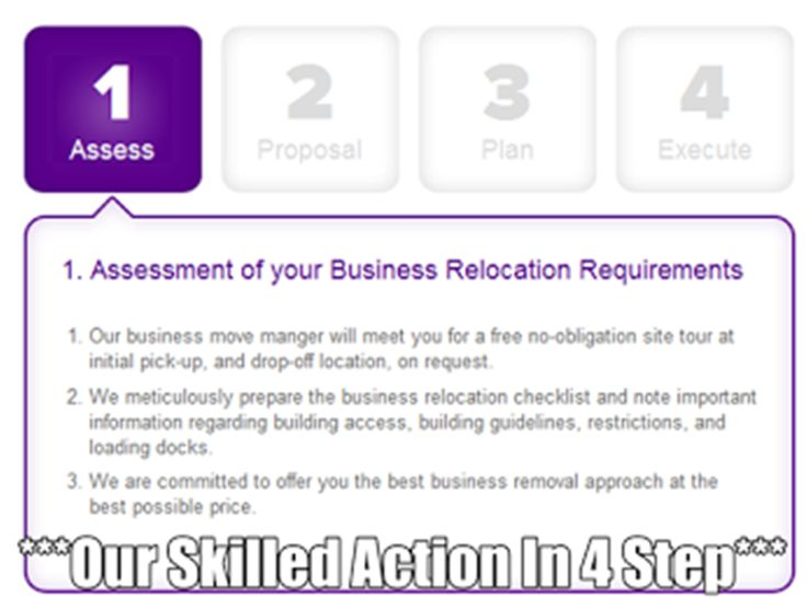 ****The Business Removals Process At Zoom Involves Four Key Steps****.Our Skilled Action In 4 Step http://bit.ly/1jcJjj6