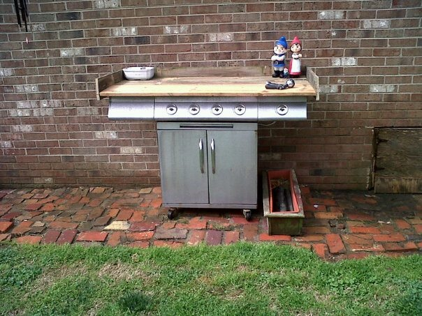 Idea For Old Gas Grill Diy Ideas Pinterest Dads
