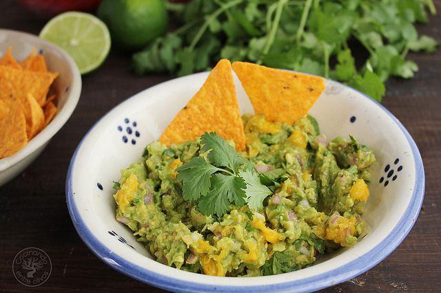Apertitivo o dip de aguacate y mango www.cocinandoentreolivos.com (14)