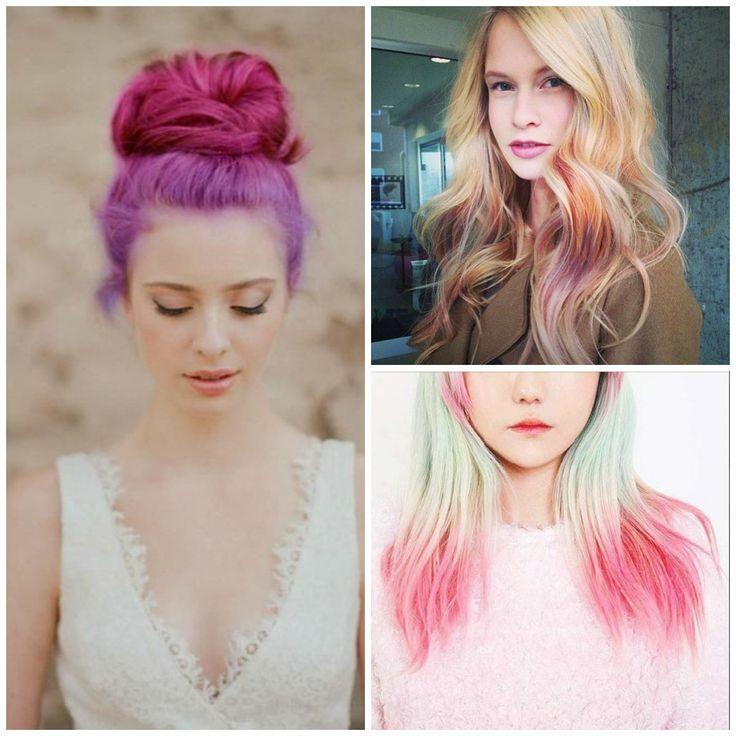 colore fluo per estate tendenze capelli 2014