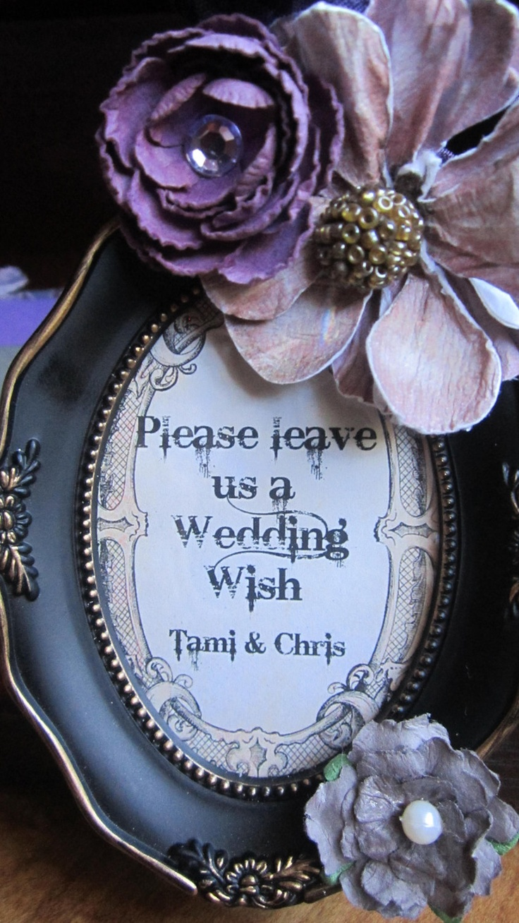 Fairytale Wedding Guest Book Alternative Victorian by trusted