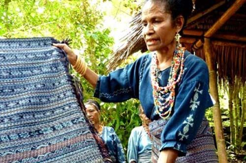 Watublapi Traditional Ikat Weaving of Sikka East of Maumere Flores Island - Indonesia